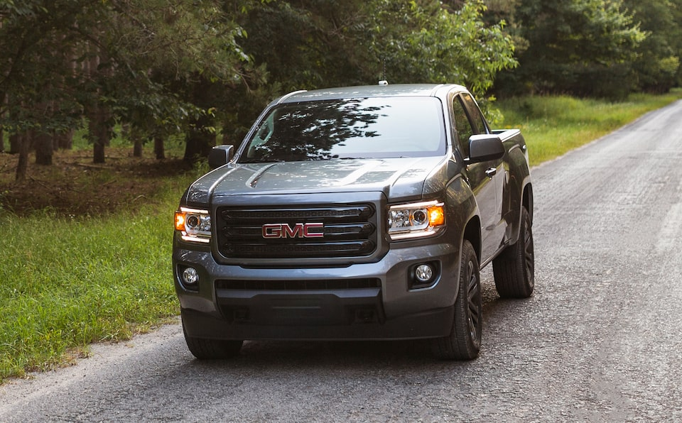 2020 GMC Canyon Special Edition Elevation Small Pickup Truck Front Exterior