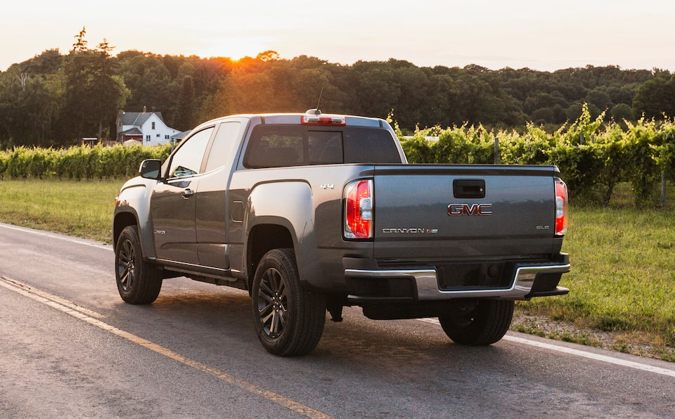 2020 GMC Canyon Special Edition Elevation Small Pickup Truck Rear Driver Side View