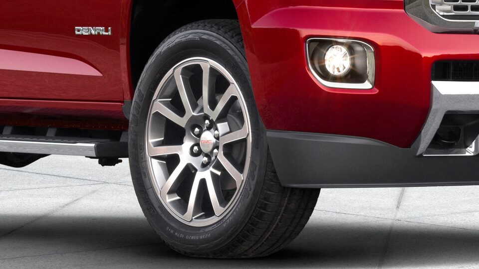 2020 GMC Canyon Denali Luxury Small Truck Aluminum Wheels for Exterior Features Page