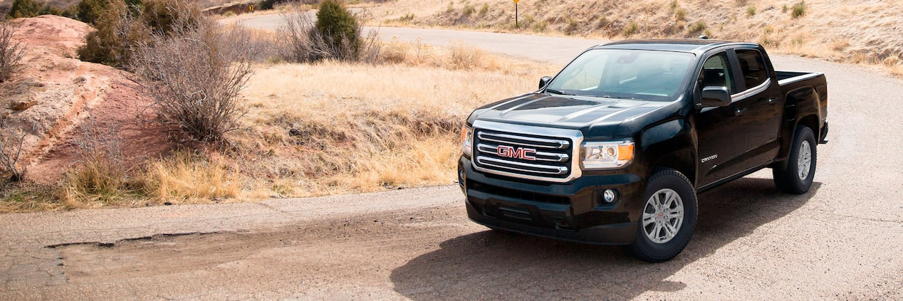 2020 GMC Canyon Small Pickup Truck Safety Features Masthead Image