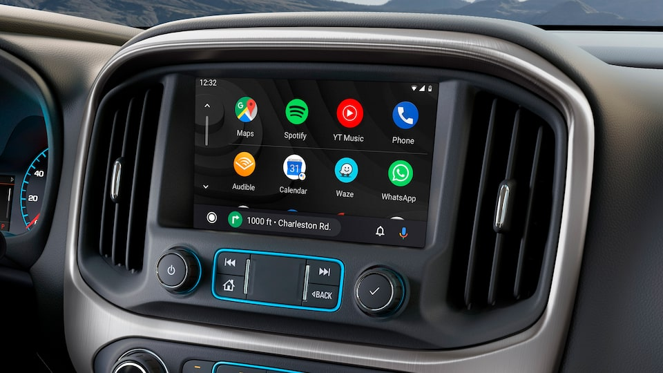 2020 GMC Canyon SLE/SLT Small Pickup Truck: Touch Screen with Android  Auto