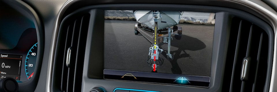 2020 GMC Canyon Small Pickup Truck Technology Features Rear Camera Header