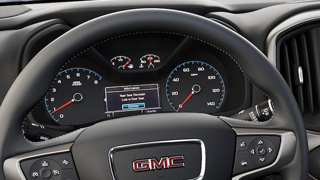 2020 GMC Canyon Small Pickup Truck Technology Features Seat Reminder