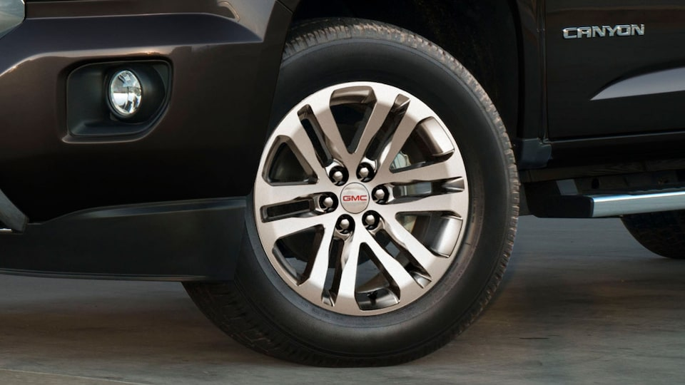 2020 GMC Canyon Small Pickup Truck Technology Features Tire Fill