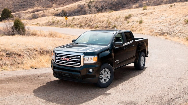 2020 GMC Canyon Small Pickup Truck Exterior Gallery Desert Image