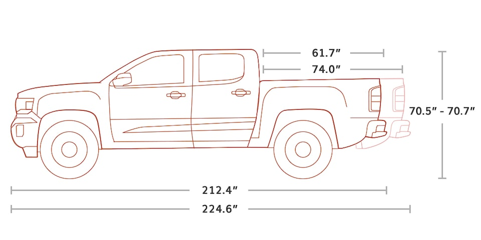 2020 Gmc Canyon Sle Slt Small Pickup Truck Vehicle Details