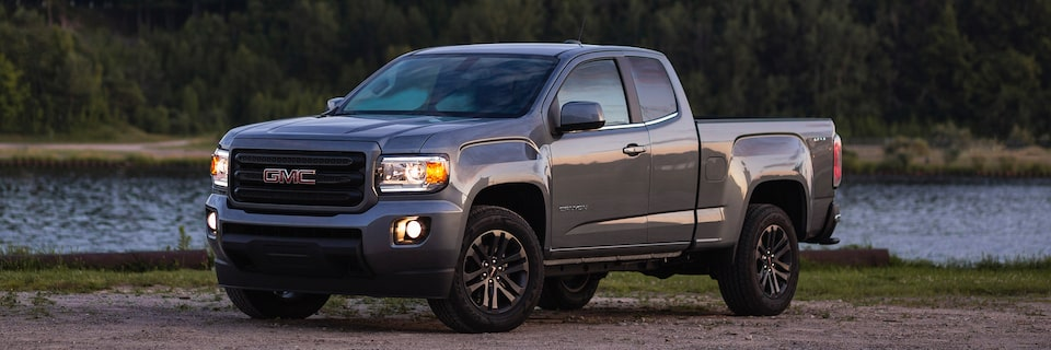 2019 GMC Canyon Special Edition Elevation Small Pickup Truck Front Driver Side Exterior
