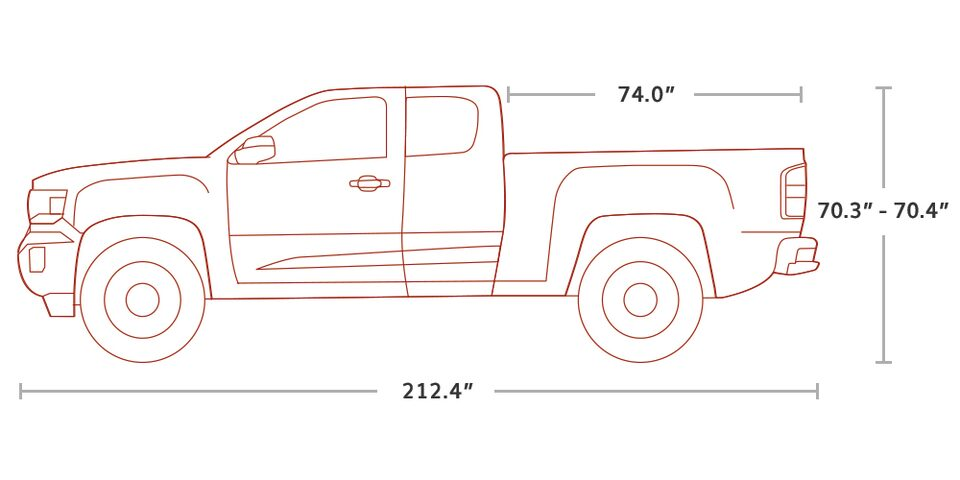 2020 GMC Canyon Small Pickup Truck Extended Cab Specs