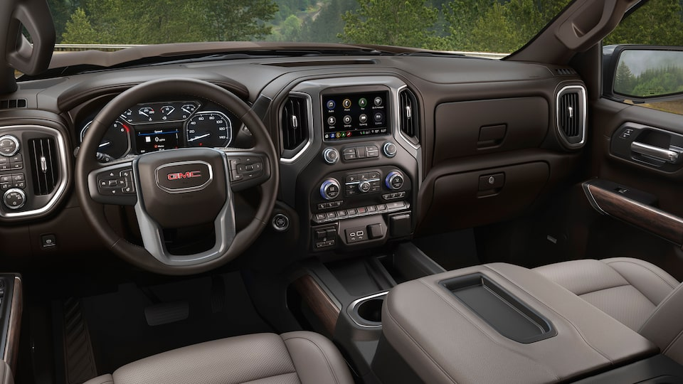 2020 GMC Sierra 1500 Pickup Truck: interior dashboard