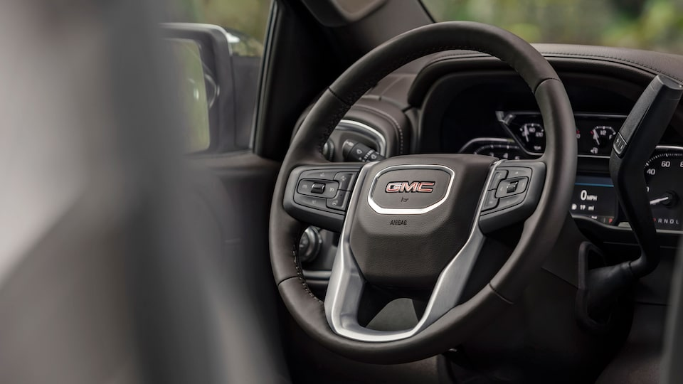 2020 GMC Sierra 1500 Pickup Truck: steering wheel