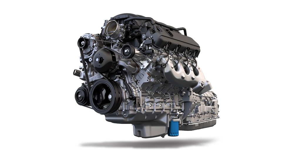 2020 GMC Sierra 1500 Pickup Truck: powertrain engine