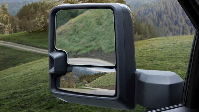 2020 GMC Sierra 1500 Pickup Truck: trailer & blind spot mirror