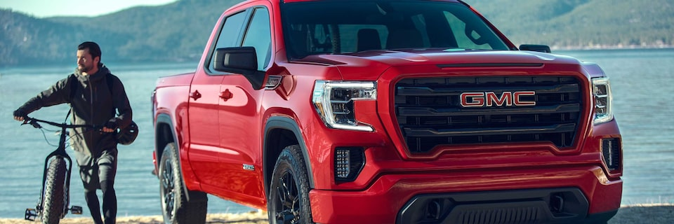 2020 GMC Sierra AT4 Off Road Truck Front Angle View