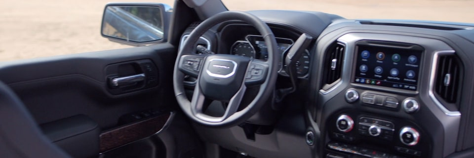 Video of 2020 GMC Sierra Interior Design