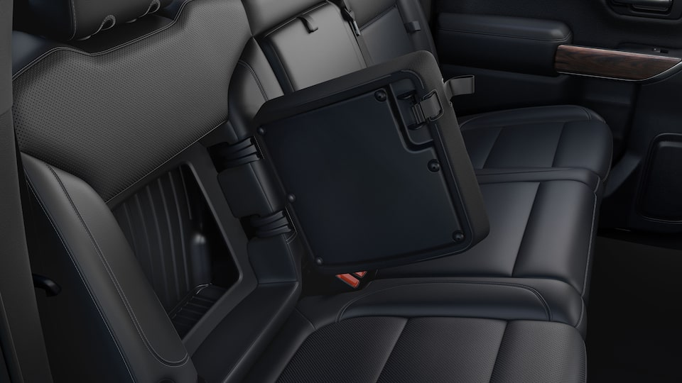 2020 GMC Sierra 1500 Pickup Truck: rear seat cargo space