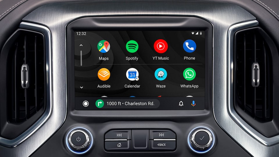 2020 GMC Sierra 1500 SLE/Elevation/SLT Pickup Truck: Touch Screen with  Android Auto