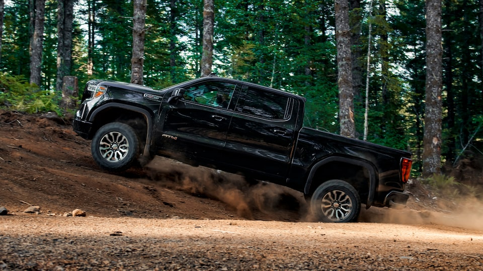 2020 Sierra AT4 Off Road Truck: adapting to road conditions