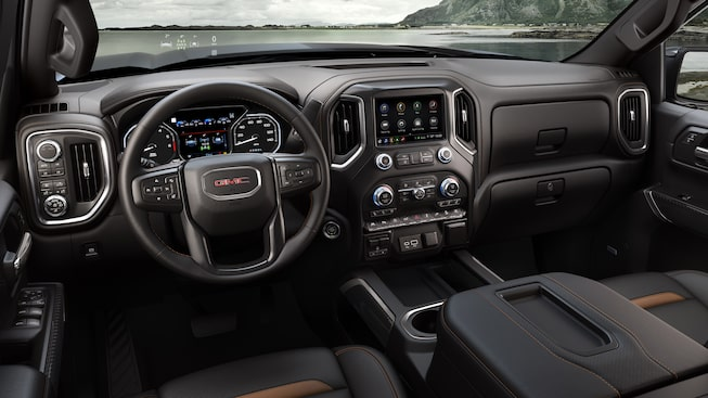 Interior Features | 2020 GMC Sierra 1500 AT4 | Off-road Truck