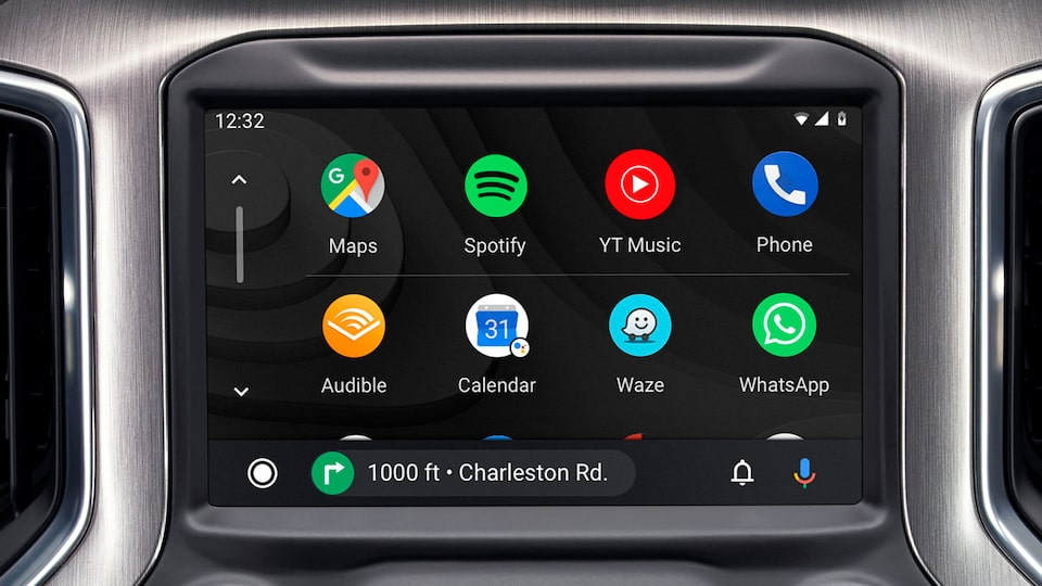 2020 GMC Sierra 1500 AT4 Pickup Truck: Touch Screen with Android Auto