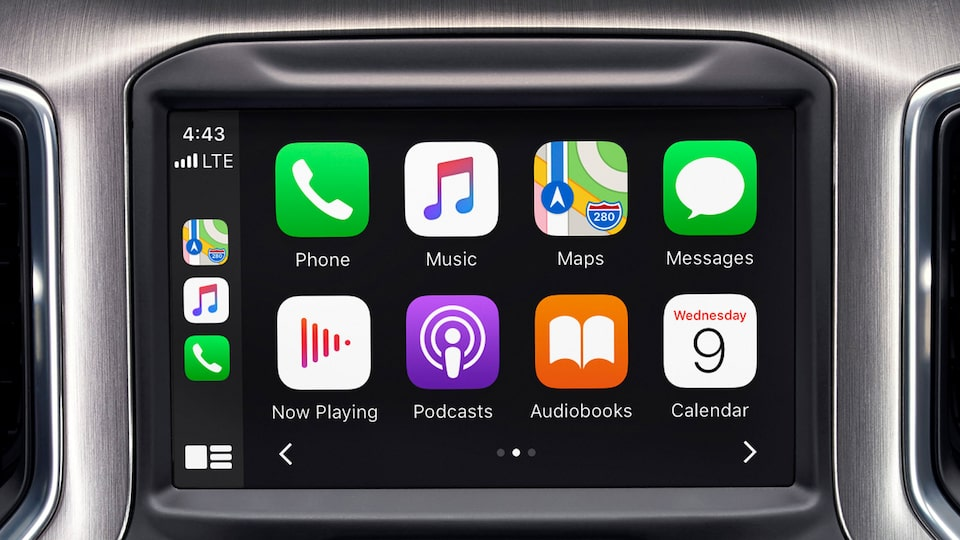 2020 GMC Sierra 1500 AT4 Pickup Truck: Touch Screen with Apple Carplay