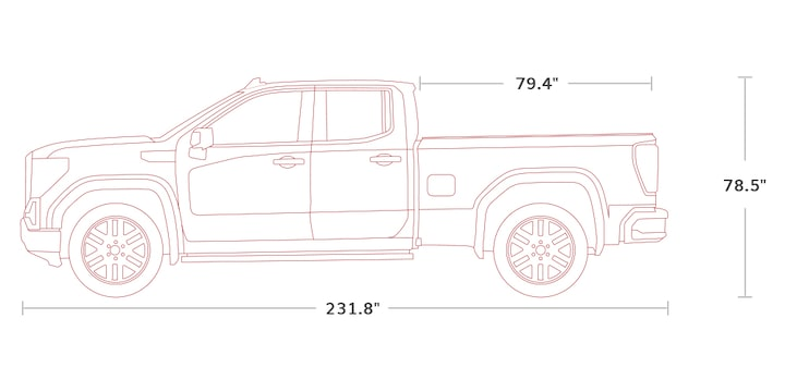 2020 GMC Sierra AT4 Off Road Truck Specs: double cab
