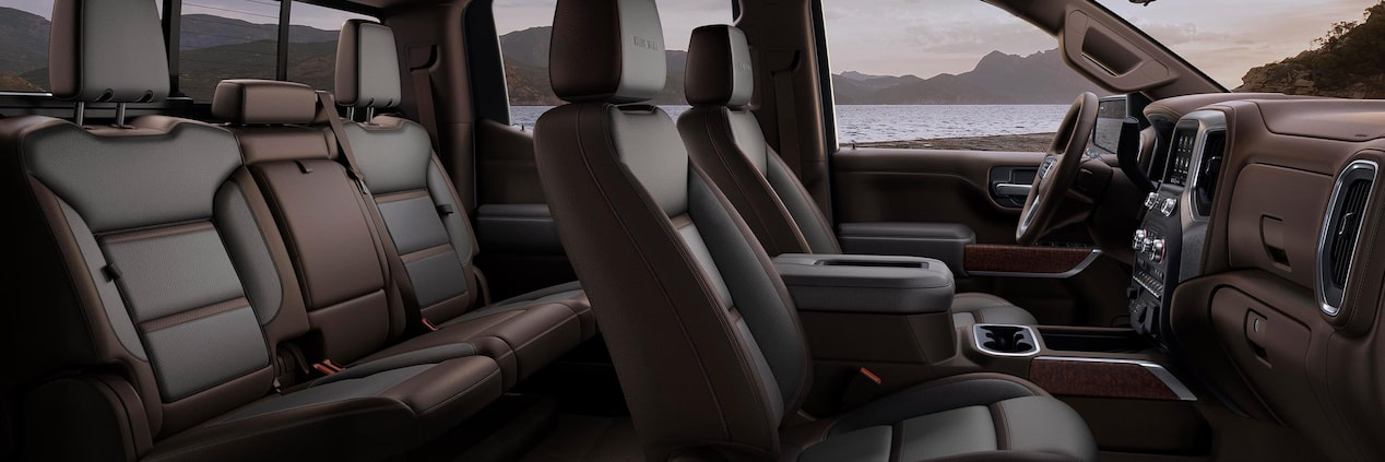 Interior Features | 2020 GMC Sierra 1500 Denali | Luxury Truck