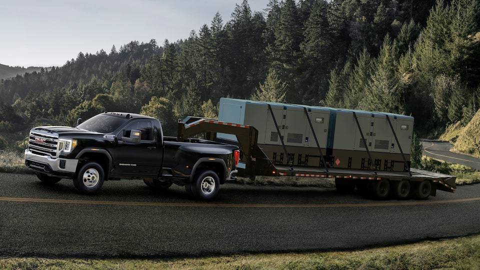 2020 Sierra HD Towing: Gross Vehicle Weight Ratio