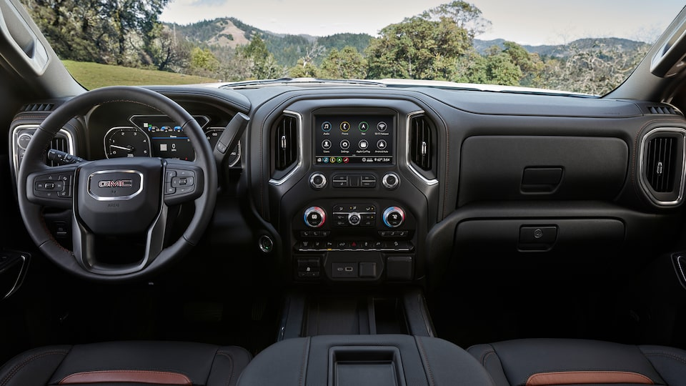 2020 GMC Sierra HD AT4 Off-Road Truck Athletic Dashboard Design