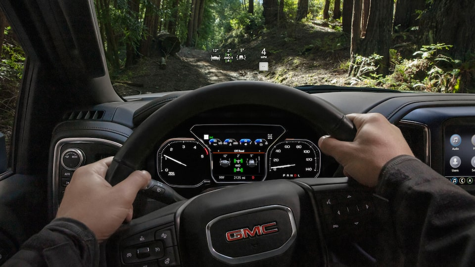 2020 GMC Sierra HD AT4 Off-Road Truck Heads Up Display