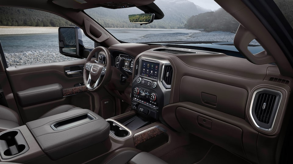 2020 GMC Sierra Denali HD Luxury Truck Premium Interior Dashboard