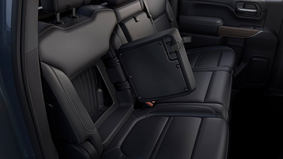 2020 GMC Sierra Denali HD Luxury Truck Rear Seatback storage