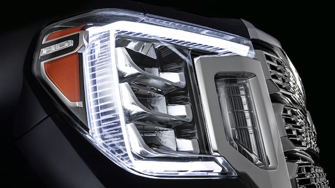 2020 GMC Sierra Denali HD Luxury Truck Led Headlights