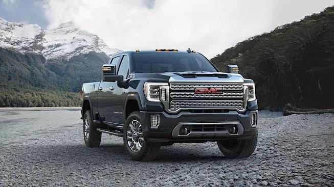 2020 GMC Sierra Denali HD Luxury Truck Front Side Exterior