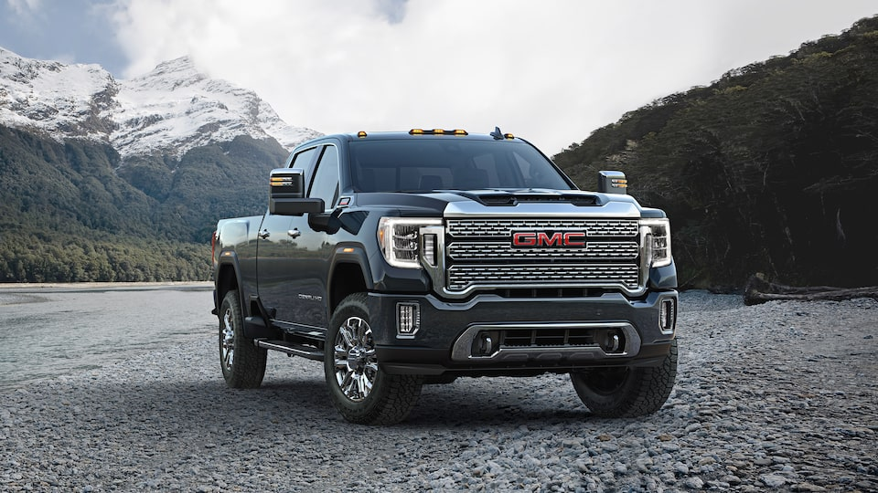 2020 GMC Sierra Denali HD Luxury Truck Front Side Exterior