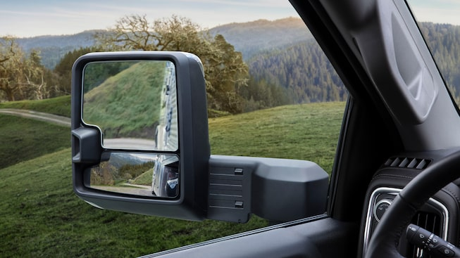 2020 GMC Sierra Denali HD Luxury Truck Trailering Mirrors