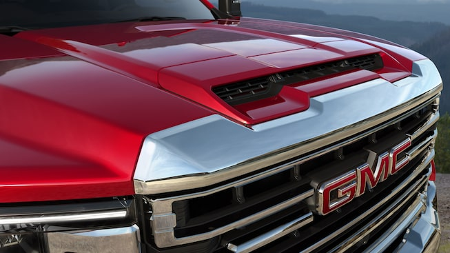 2020 GMC Sierra Heavy Duty Pickup Truck: exterior hood and grille