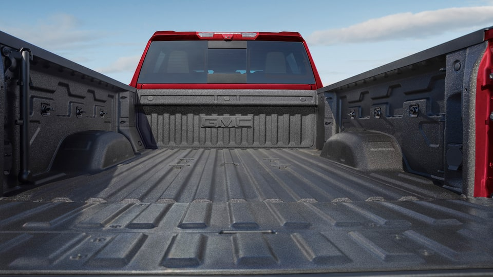 2020 GMC Sierra Heavy Duty Pickup Truck: cargo bed space