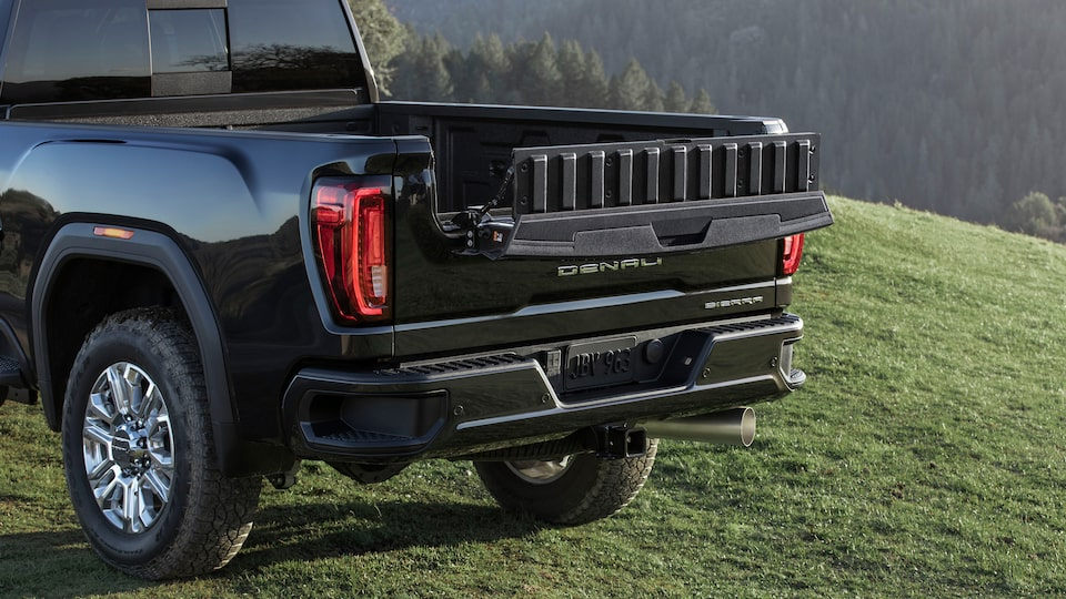2020 GMC Sierra HD AT4 Off-Road Truck MultiPro Tailgate Inner Gate Load Stop