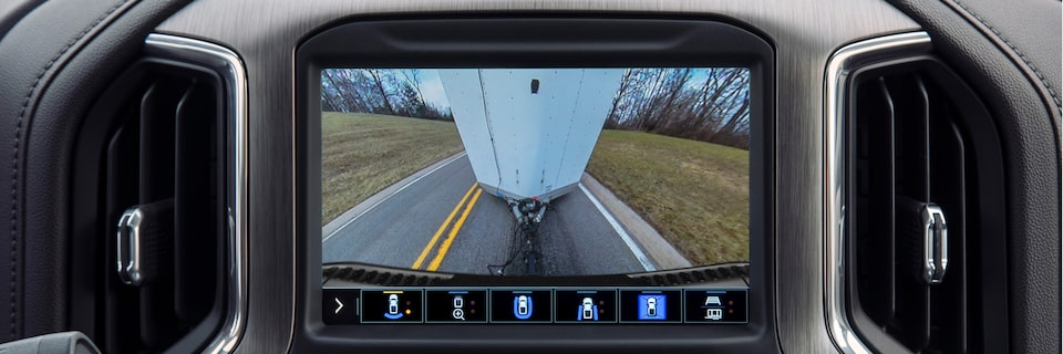 2020 GMC Sierra HD AT4 Off-Road Truck Standard Rear Camera View