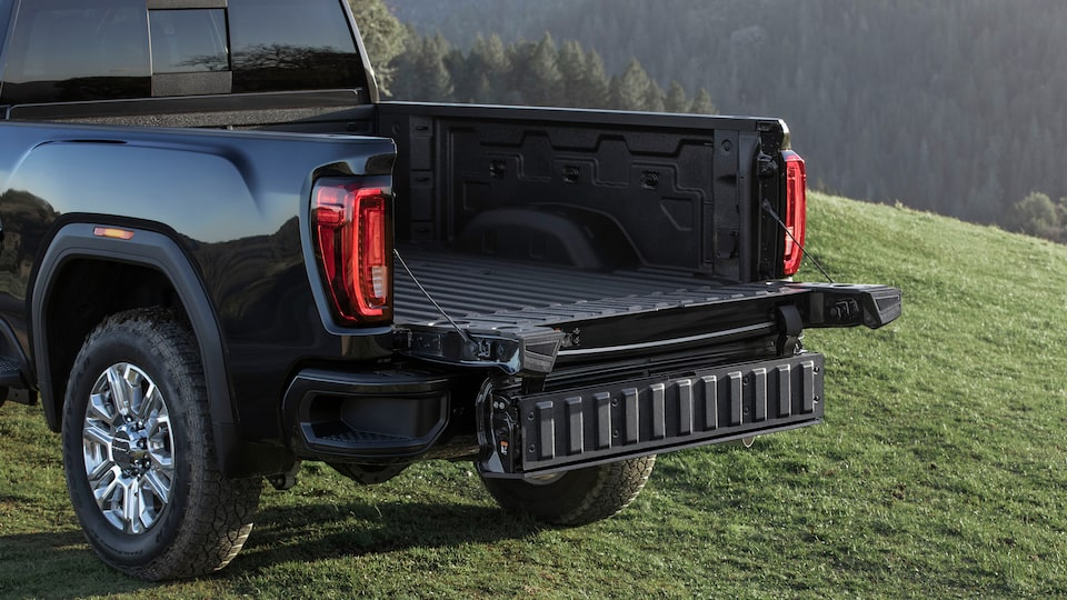 2020 GMC Sierra HD AT4 Off-Road Truck MultiPro Tailgate Easy Access