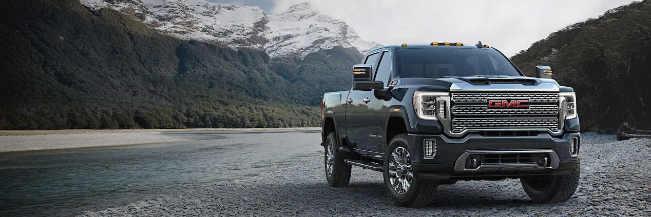 2020 GMC Sierra Denali HD Luxury Truck Front Side Exterior View