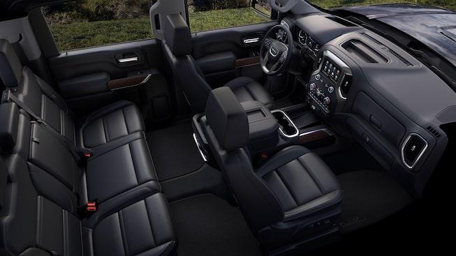 Interior Features | 2020 Sierra Denali 2500HD & 3500HD | Truck