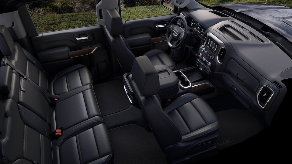 2020 GMC Sierra Denali HD Luxury Truck Crew Cab front head room