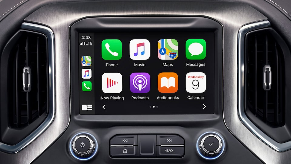 2020 GMC Sierra HD Denali Heavy-Duty Pickup Truck: Touch Screen with Apple  Carplay
