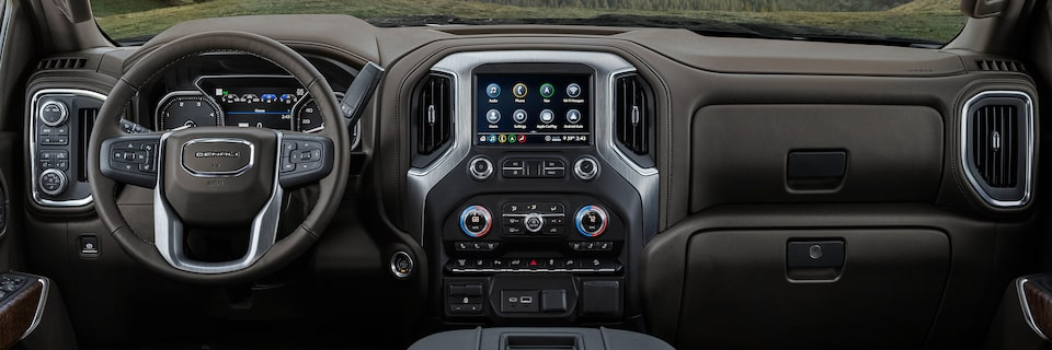 2020 GMC Sierra Denali HD Luxury Truck Touch Screen Infotainment System