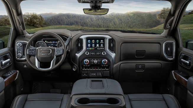 2020 GMC Sierra Denali HD Luxury Truck Touch Screen Infotainment