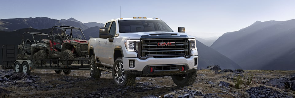 2020 GMC Sierra HD AT4 Off-Road Truck Chassis and Suspension