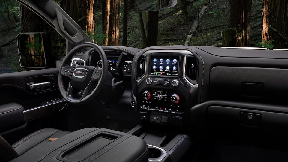 2020 GMC Sierra HD AT4 Off-Road Truck Steering Wheel