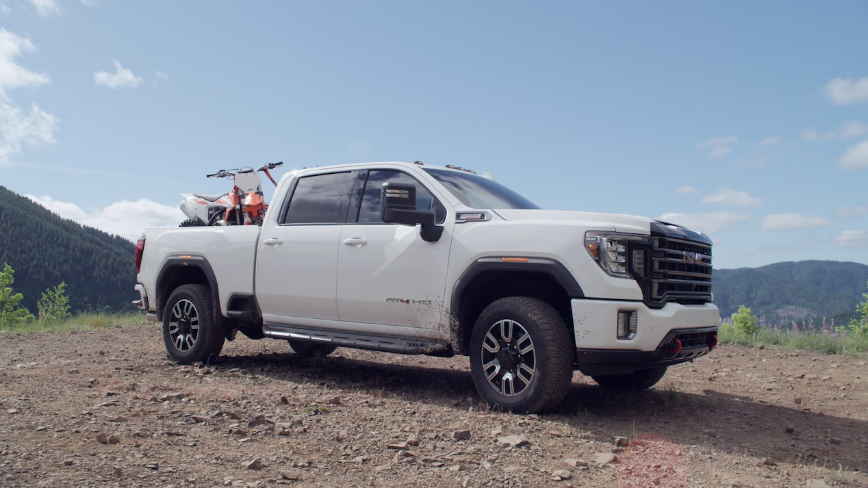 Exterior Features   2020 Sierra AT4 2500HD & 3500HD   Truck