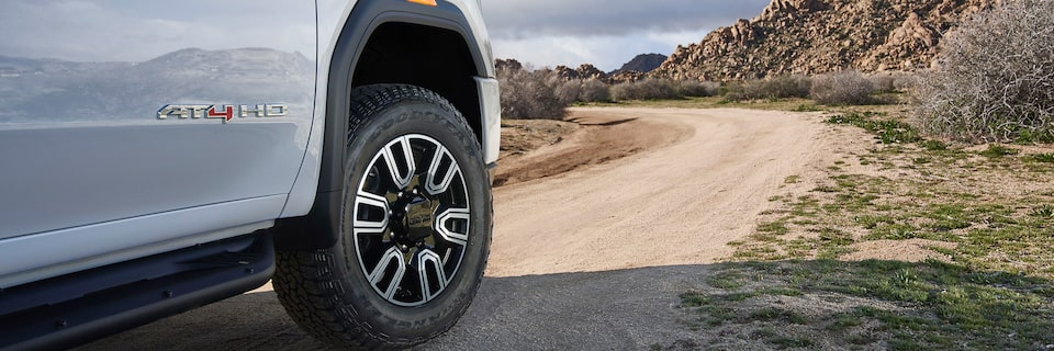 2020 GMC Sierra HD AT4 Off-Road Truck Rugged Wheel Design